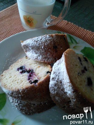 Рецепт кекса со смородиной