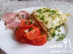 Картофельная фриттата омлет