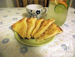 Лепешка с сыром сулугуни