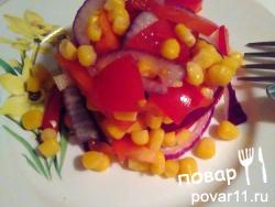 Салат полезный