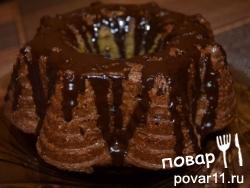 Пряный кекс со свеклой