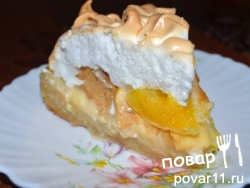 Апельсиновый пирог с яблоком/грушей