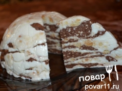 Мраморное суфле рецепт