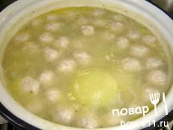 Суп диетический с фрикадельками