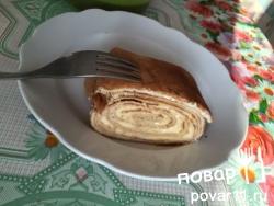 Рецепт слоеного омлета